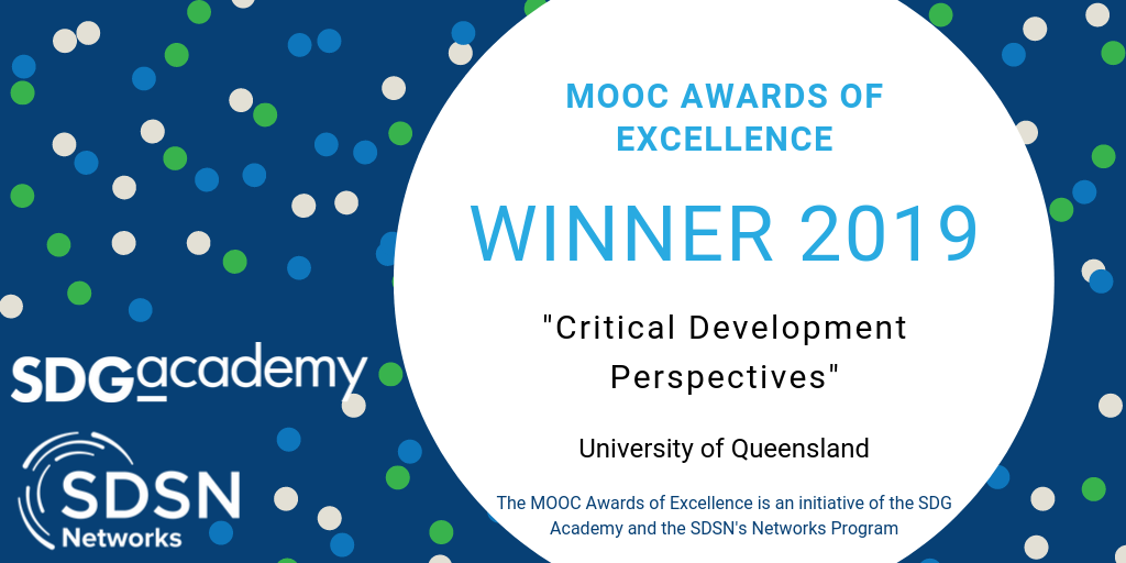 MOOC Awards of Excellence Winner 2019
