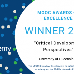 MOOC Awards of Excellence